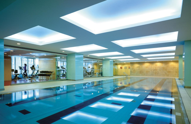Indoor pool at Shangri-La Hotel-Changchun.