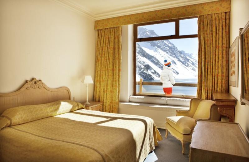 Guest room at Portillo Chile.