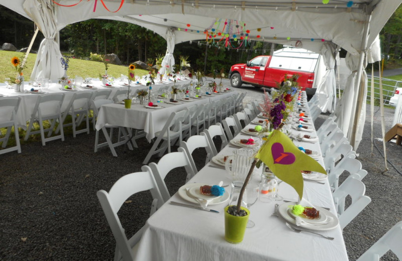 Receptions at Bobs Lake Cottages.
