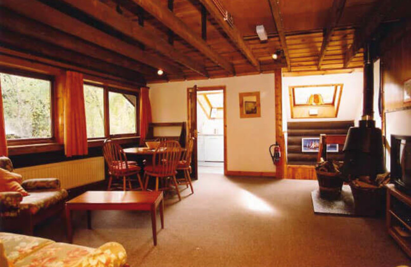 Guest accommodations at Loch Insh Watersports & Boathouse Restaurant.