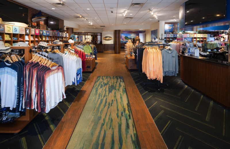 Gift shop at TradeWinds Island Grand.