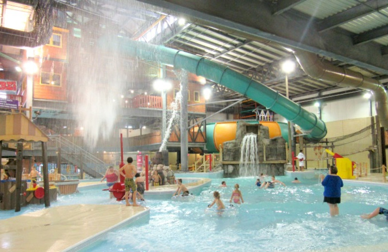Water park at Double JJ Resort.