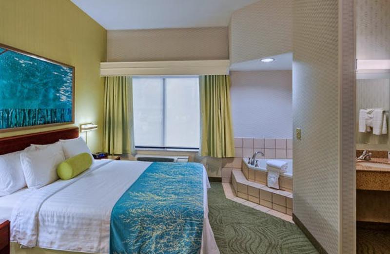 Guest room at SpringHill Suites San Diego Rancho Bernardo/Scripps Poway.