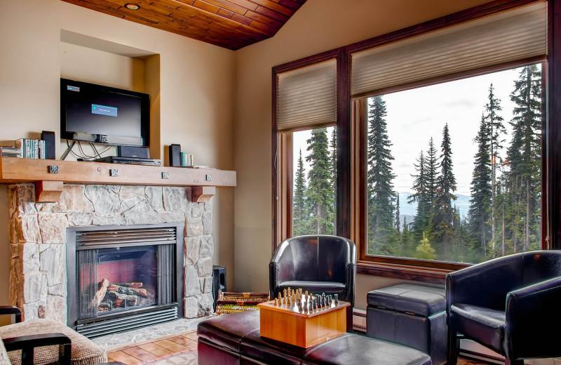Cozy Living Room at RentChalets