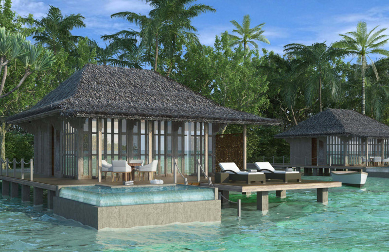 Render exterior at Bocas Bali Resort.