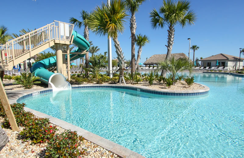 Resort pool at Vacation Pool Homes.