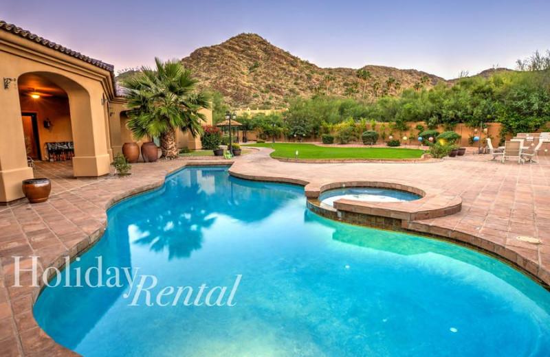 Rental pool at HolidayRental.com.