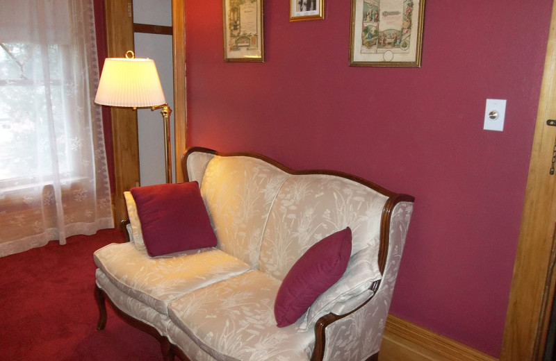 Guest room at The Sawyer House Bed & Breakfast, LLC