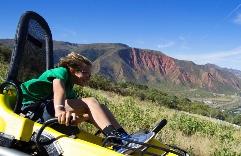Alpine Coaster at Glenwood Caverns Adventure Park.