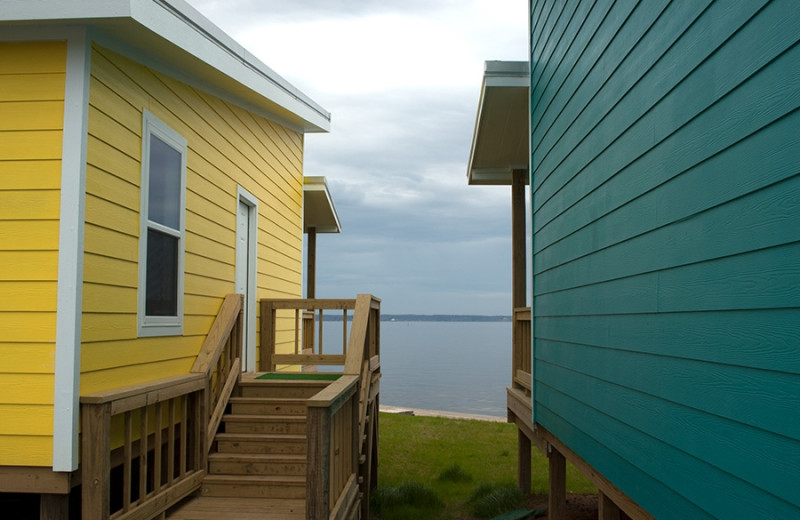 Cabins at D'Arbonne Pointe.
