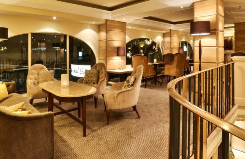 Dining at Excelsior Hotel Ernst.