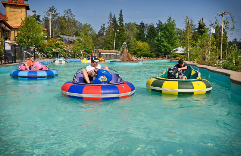 Waterpark near Old Forge Camping Resort.