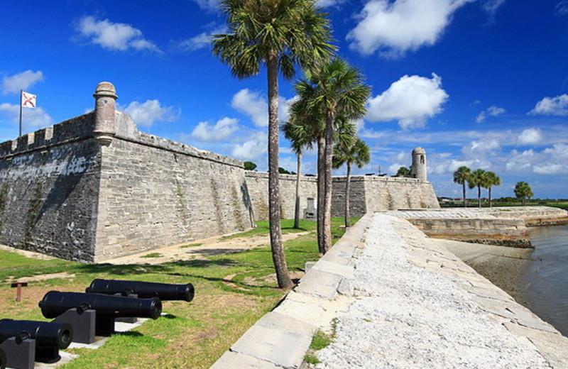 St. Augustine Florida near Holiday Isle Oceanfront Resort.