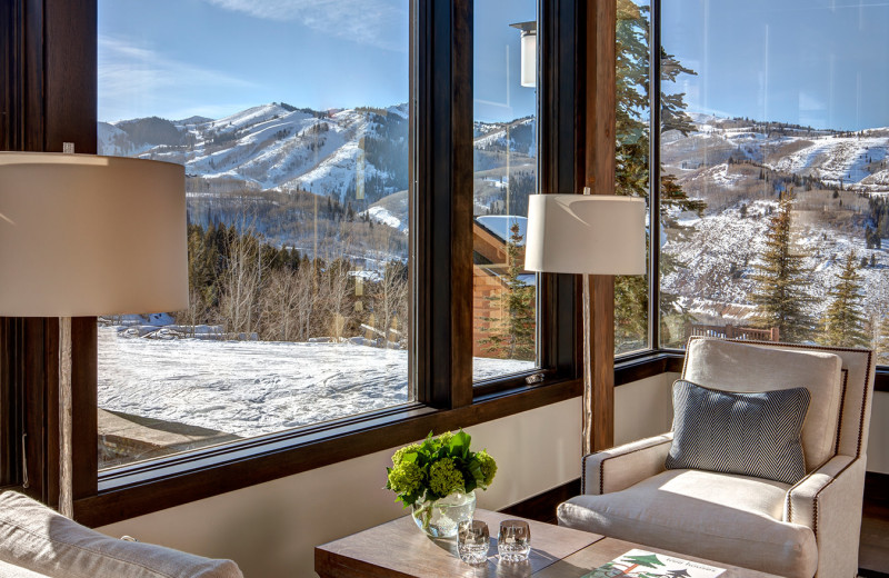 Rental mountain view at Stein Eriksen Residences.