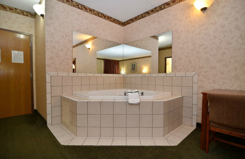 Hot Tub Suite at  Comfort Inn & Suites