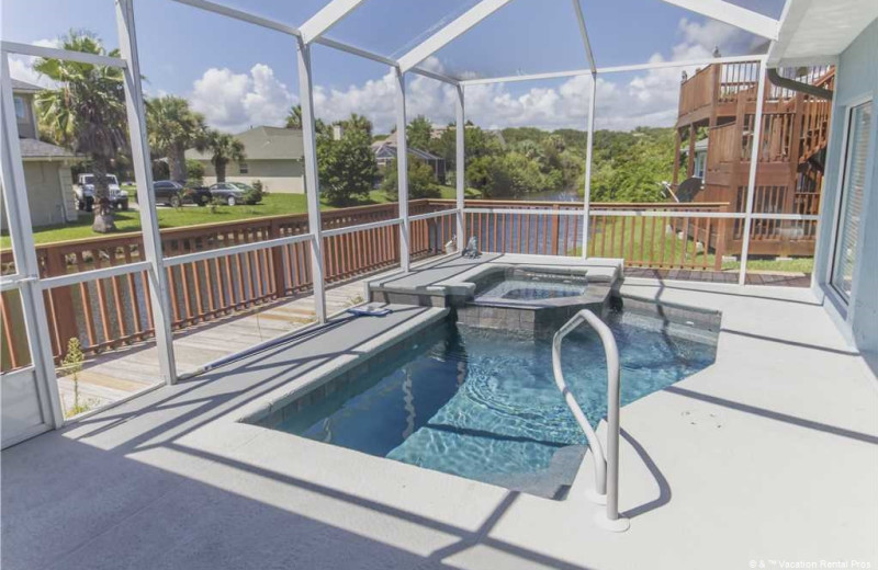 Rental pool at Vacation Rental Pros - St. Augustine.