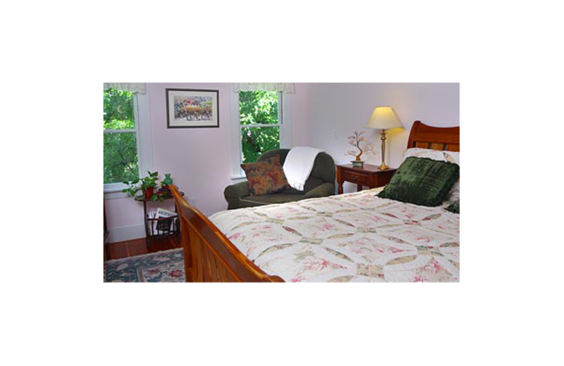 John Cyrus room at Bear Flag Inn.
