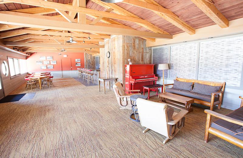 Meeting space at Sojourn Lakeside Resort.