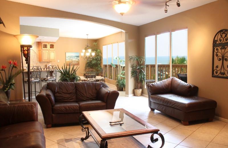 Living Room at Port Royal Ocean Resort