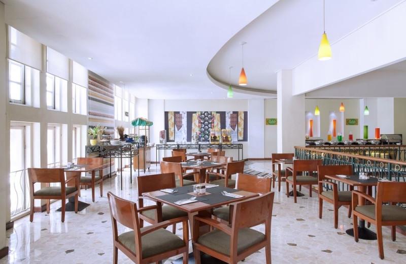 Dining at Ibis Rajawali Surabaya Hotel.