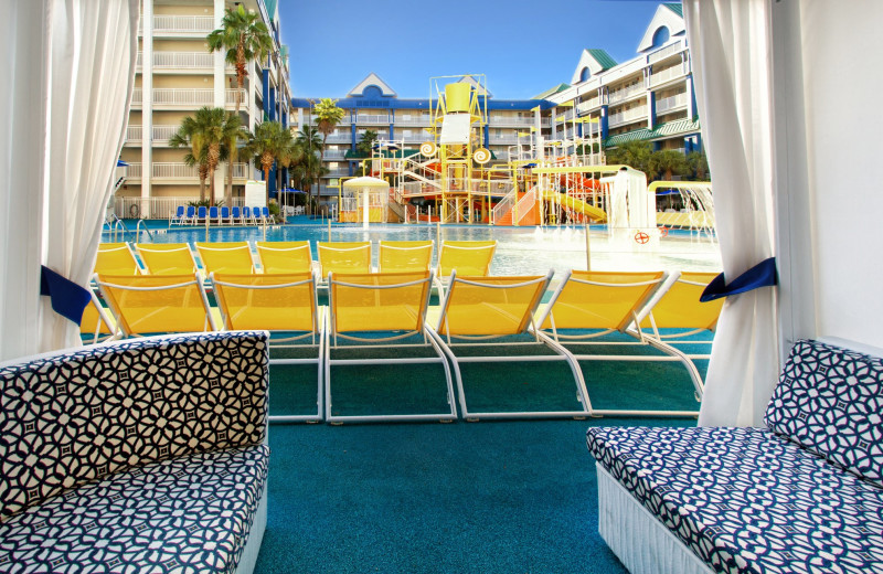Cabana at Holiday Inn Resort Orlando Suites - Waterpark.