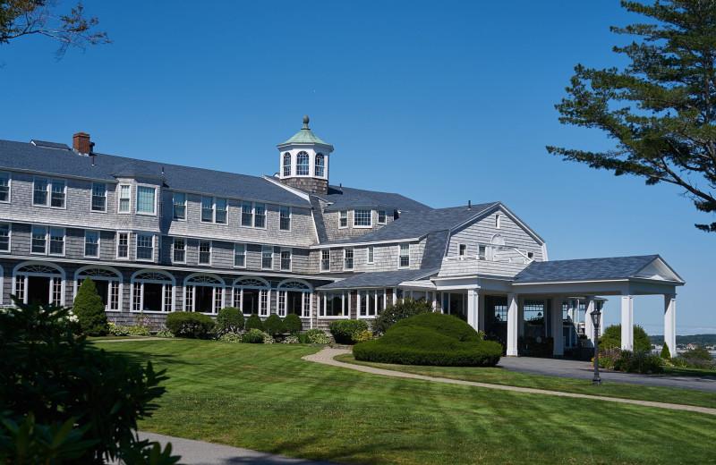 Exterior view of Black Point Inn.
