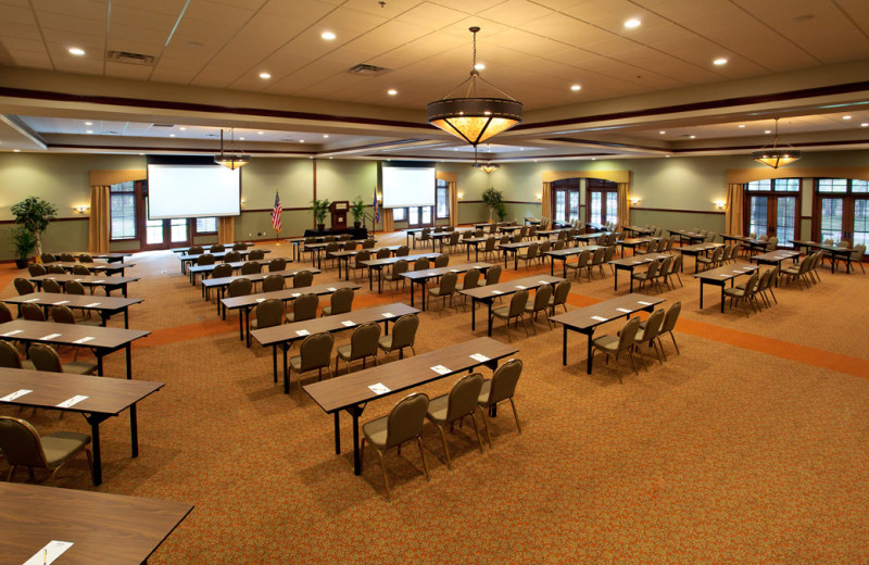 Conference at Grand View Lodge.