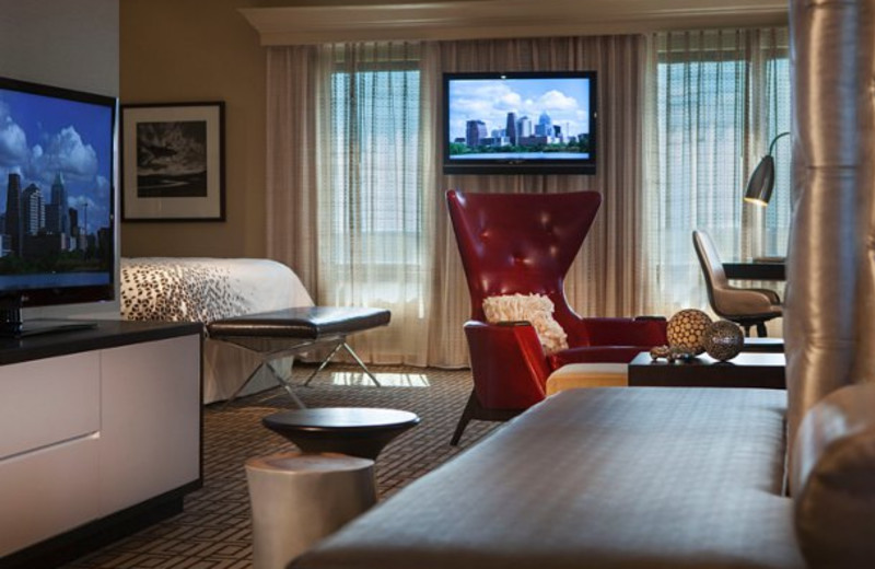 Presidential suite at Renaissance Austin Hotel.