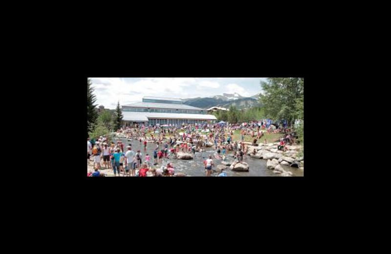 Summer activities at Summit Vacations.
