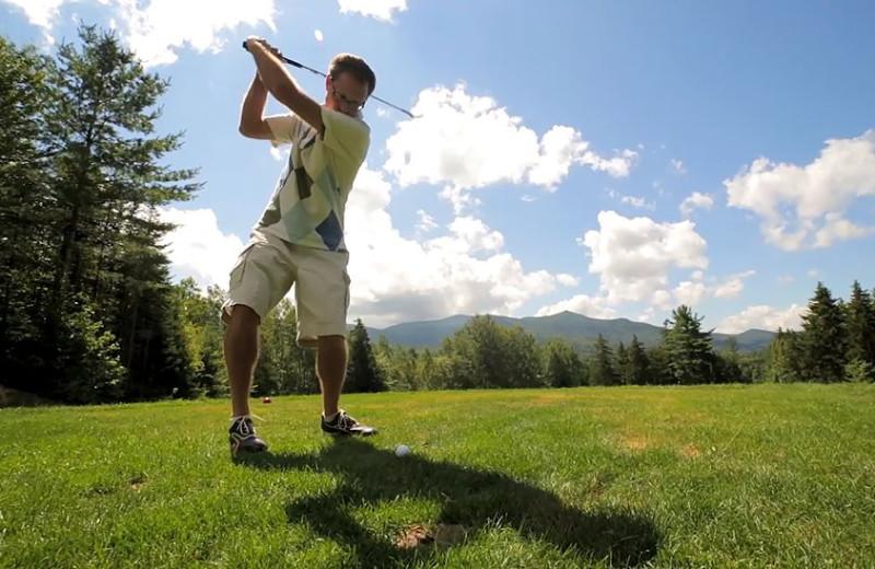 Golf near Black Bear Lodge.