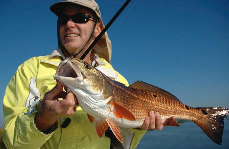 Fishing at Omni Amelia Island Plantation.