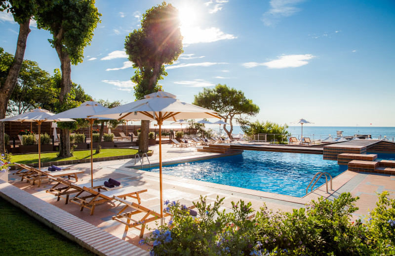 Outdoor pool at Westin Excelsior Venice Lido.