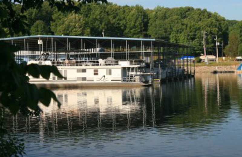 Boat Dock at Eddy Creek Marina Resort