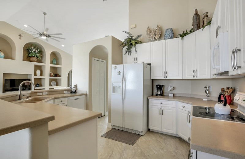 Rental kitchen at MHB Property Management.
