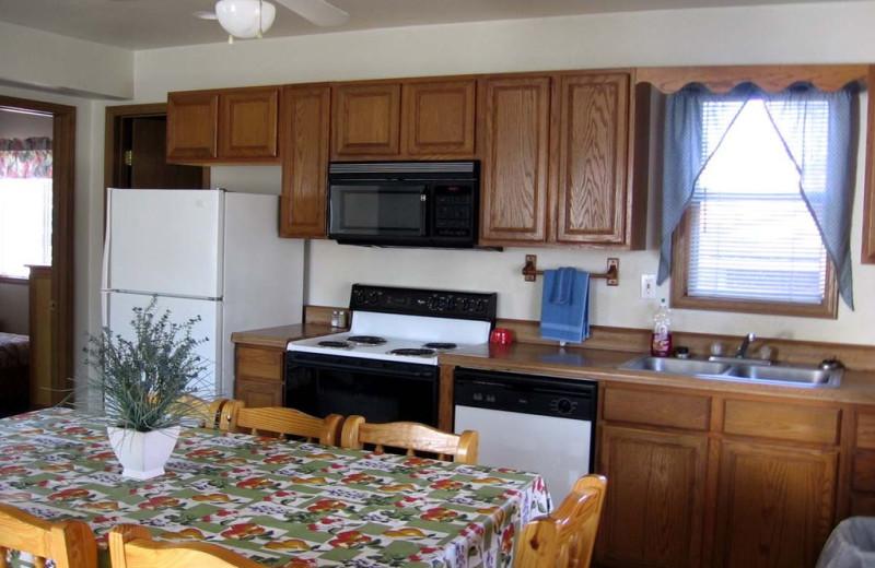 Kitchen view ta Alhonna Resort.