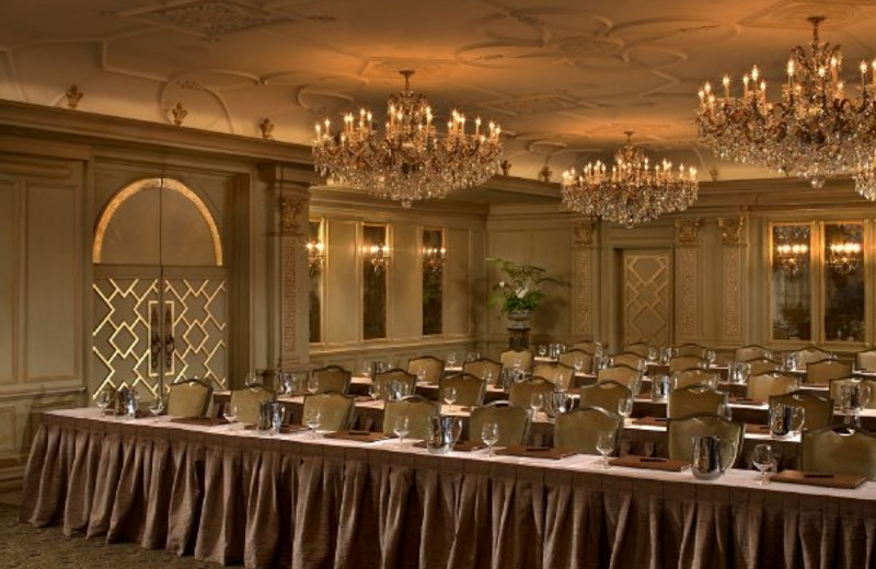Banquet hall at the Grand Bohemian Hotel Asheville.