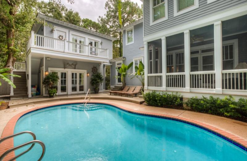 Vacation rental exterior at Hodnett Cooper.