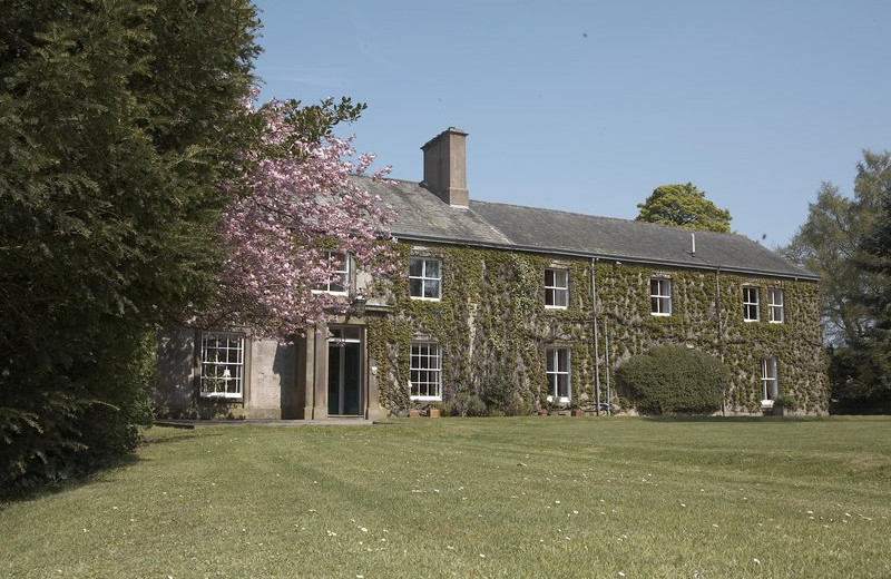 Exterior view of Farlam Hall Country House Hotel.