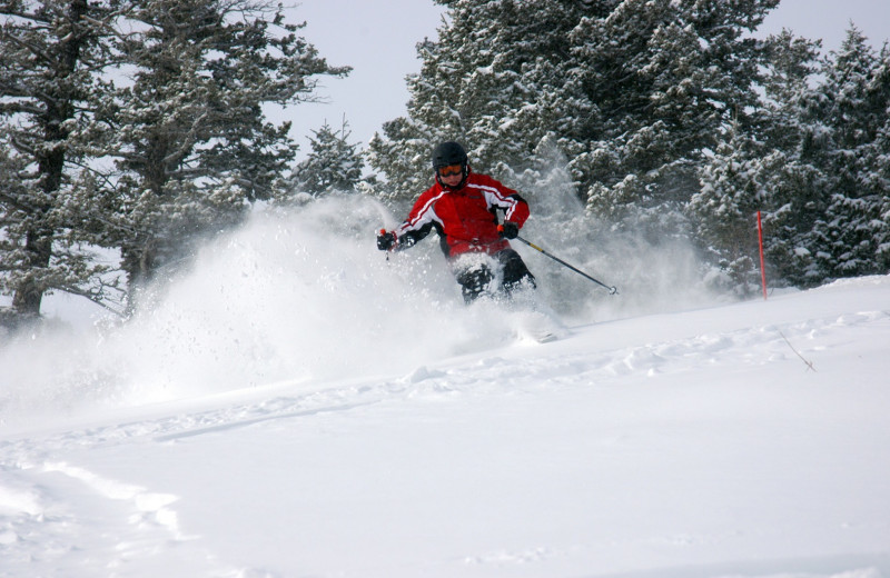 Skiing near Paradise Resort Club