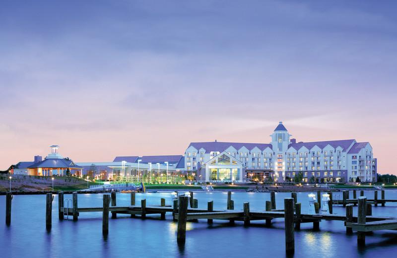 Exterior view of Hyatt Regency Chesapeake Bay Golf Resort, Spa and Marina.