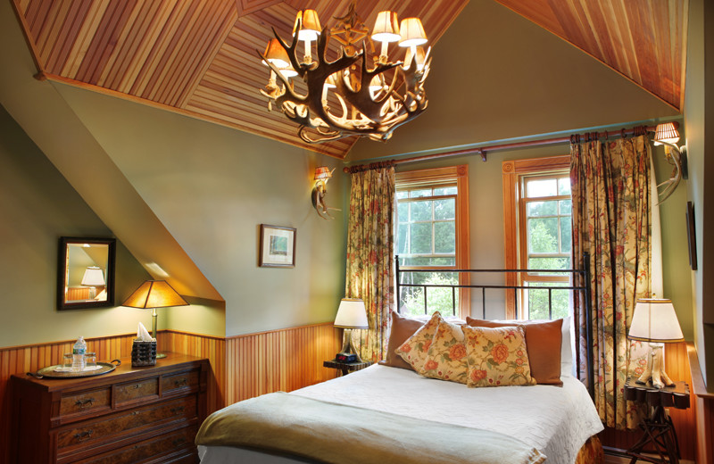 Guest room at The Mountain Brook.