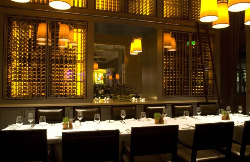Fine dining at The Carneros Inn.