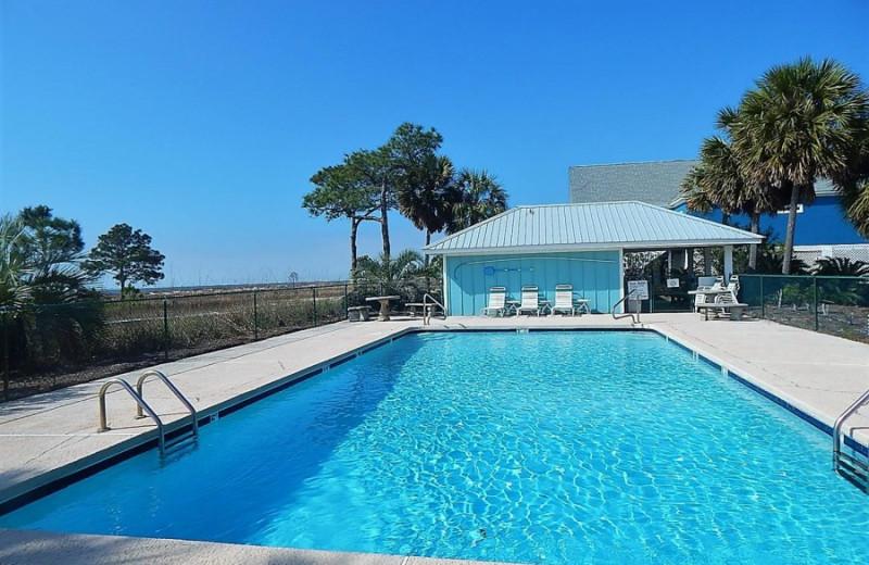 Rental pool at ACP Vacation Rentals.