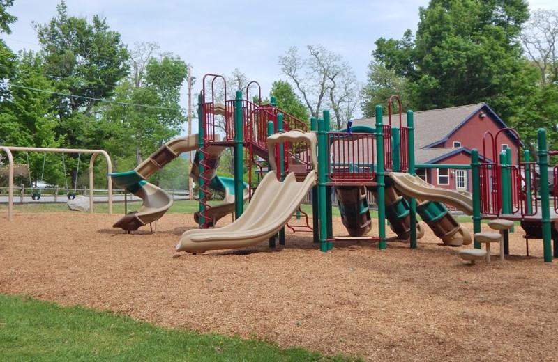 Playground at Yogi Bear's Jellystone Park™ Camp-Resort in Gardiner, NY.