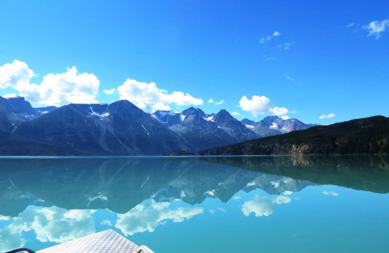 Scenic view at Tagish Wilderness Lodge.
