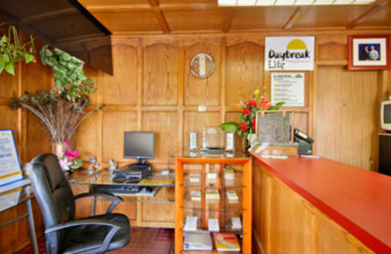 Front Desk at Days Inn Palo Alto
