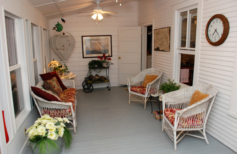 Porch Area at Stanley-Fisher House