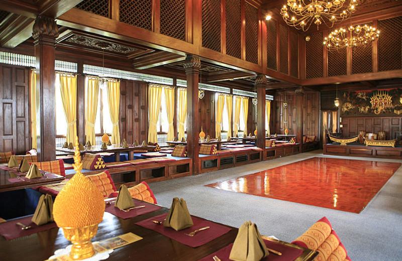 Dining at Indra Regent Hotel.