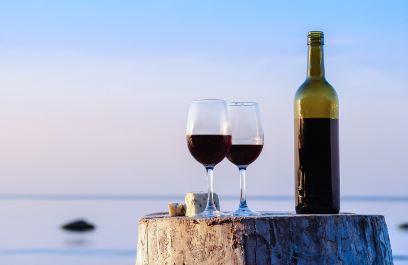 Enjoy ocean breezes and local wine from one of Monterey County's finest vineyards...