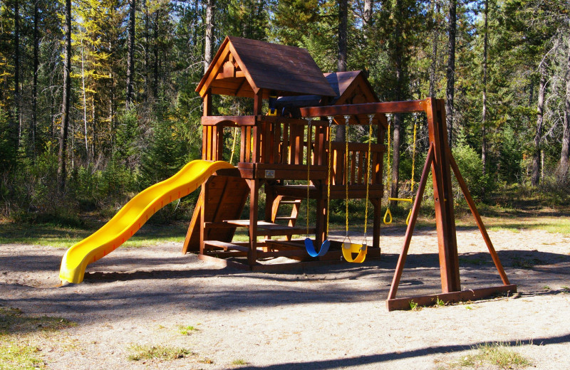 Playground at Lake Five Resort.